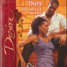 Very Private Duty by Rochelle Alers Silhouette Desire Novel Book 0373766130