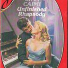 Unfinished Rhapsody by Gina Caimi Silhouette Desire Novel Book 0373052707