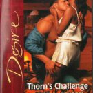 Thorn's Challenge by Brenda Jackson Silhouette Desire Romance Novel Book  Red Cover