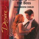 Sleeping With The Boss by Maureen Child Silhouette Desire Novel Book 0373765347
