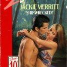 Shipwrecked by Jackie Merritt Silhouette Desire Romance Novel Book 0373057210