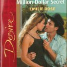 Cowboy's Million-Dollar Secret by Emilie Rose Silhouette Desire Book 0373765428