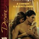 A Cowboy and A Gentleman by Ann Major Silhouette Desire Romance Book 0373764774