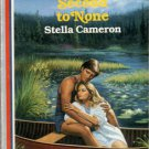 Second To None by Stella Cameron American Romance Novel Book Fiction Fantasy Love