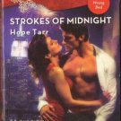 Strokes Of Midnight by Hope Tarr Harlequin Blaze Romance Novel Book 0373793685