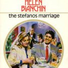 The Stefanos Marriage by Helen Bianchin Harlequin Romance Novel Book 0373114230