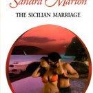 The Sicilian Marriage by Sandra Marton Harlequin Presents Romance Book 0373124589