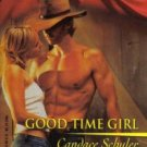 Good Time Girl by Candace Schuler Harlequin Blaze Romance Novel Book 0373790317