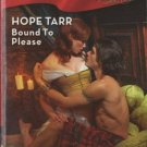 Bound To Please by Hope Tarr Harlequin Blaze Historicals Novel Book 0373794118