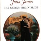 The Greek's Virgin Bride by Julia James Harlequin Presents Novel Book 0373123833