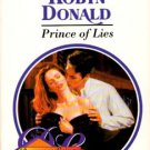 Prince Of Lies by Robyn Donald Harlequin Presents Romance Novel Book 0373117833