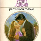 Permission To Love by Penny Jordan Harlequin Presents Novel Book 0373108680