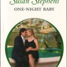 One-Night Baby by Susan Stephens Harlequin Presents Romance Novel Book 0373126557