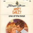 One of the boys by Janet Dailey Harlequin Presents Fiction Love Romance Novel Book