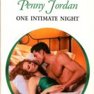 One Intimate Night by Penny Jordan Harlequin Presents Romance Novel Book 0373121466