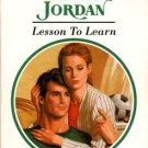 Lesson To Learn by Penny Jordan Harlequin Presents Novel Romance Book 037311673X