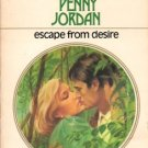 Escape From Desire by Penny Jordan Harlequin Presents Novel Romance Book 037310569X
