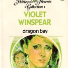 Dragon Bay by Violet Winspear Harlequin Presents Novel Romance Book 0373150040