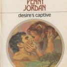 Desire's Captive by Penny Jordan Harlequin Presents Novel Romance Book 0373106092