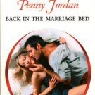 Back In The Marriage Bed by Penny Jordan Harlequin Presents Novel Book 0373121296