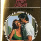 A Reason For Being by Penny Jordan Harlequin Presents Fiction Love Novel Romance Book