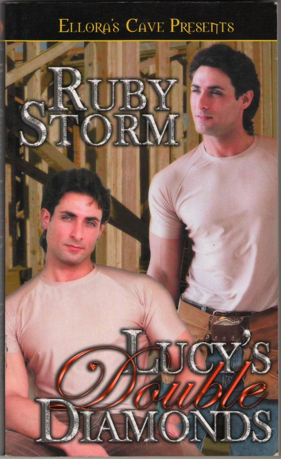 Lucy's Double Diamonds by Ruby Storm Ellora's Cave Fiction Fantasy Romance Erotica Book