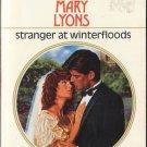 Stranger At Winterfloods by Mary Lyons Harlequin Presents Novel Book 0373111444