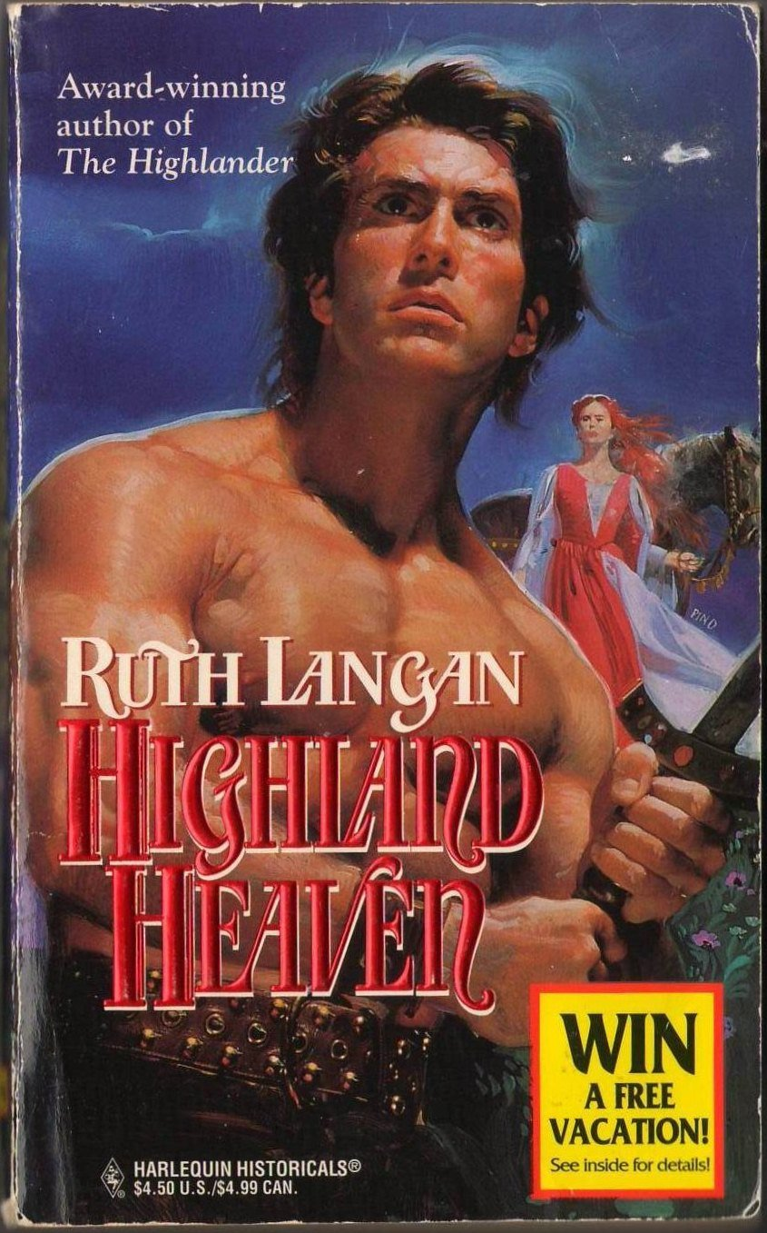 Highland Heaven by Ruth Ryan Langan Harlequin Historical Romance Fiction Novel Book Fantasy Love