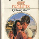 Lightning Storm by Anne Mcallister Harlequin Presents Fiction Novel Book 0373108443