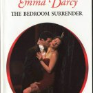 The Bedroom Surrender by Emma Darcy Harlequin Presents Romance Novel Book 0373123566