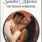 The Sicilian Surrender by Sandra Marton Harlequin Presents Romance Book 0373123507