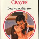 Desperate Measures by Sara Craven Harlequin Presents Romance Novel Book 0373115032