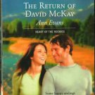 The Return Of David McKay by Ann Evans Harlequin SuperRomance Love Novel Book 0373713703