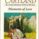 Moments Of Love by Barbara Cartland Historical Romance Fantasy Novel Book Pierre Kissed Her