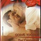 Going Too Far by Tori Carrington Harlequin Blaze Romance Love Novel Book 0373790775