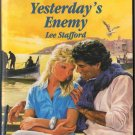 Yesterday's Enemy by Lee Stafford Harlequin Romance Love Novel Book Fiction Fantasy