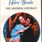 The Mistress Contract by Helen Brooks Harlequin Presents Love Novel Book Romance