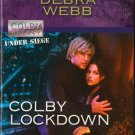 Colby Lockdown by Debra Webb Harlequin Intrigue Novel Book Fiction Love Romance