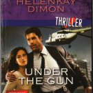 Under The Gun by Helenkay Dimon Harlequin Intrigue Fantasy Fiction Thriller Book Novel 0373694636