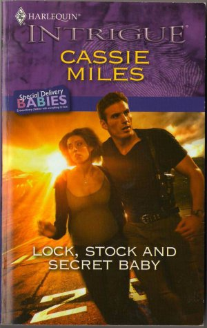 Lock, Stock And Secret Baby by Cassie Miles Harlequin Intrigue Book 0373694903