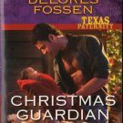 Christmas Guardian by Delores Fossen Harlequin Intrigue Fantasy Infant Left Novel Book 037369430X
