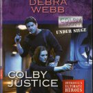 Colby Justice by Debra Webb Harlequin Intrigue Fantasy Fiction Novel Romance Book