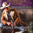 Powerhouse by Rebecca York Maximum Men Harlequin Intrigue Fiction Novel Book