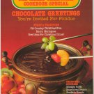 Chocolate Greetings The Merry Christmas Cookbook Special Canadian Living CLS-813 71502 Magazine 1981