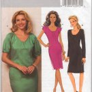 Butterick B5381 Misses' Dress AA Size 6 8 10 12 Raglan Sleeves Pleats Uncut Sewing Pattern