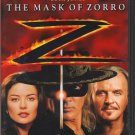 The Mask Of Zorro Antonio Banderas Catherine Zeta-Jones Anthony Hopkins Deluxe Edition PG-13 Movie