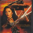 The Legend Of Zorro Antonio Banderas Catherine Zeta-Jones Widescreen Special Edition PG DVD Movie