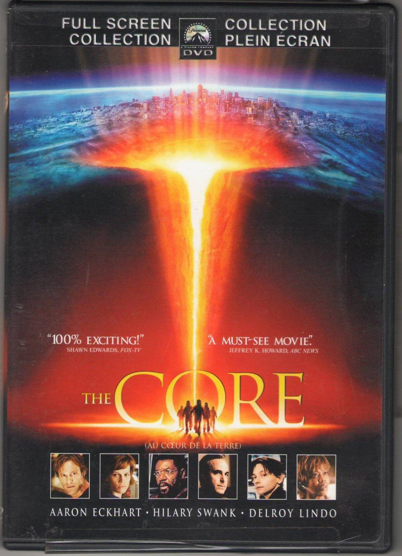 The Core Au Coeur De La Terre Hilary Swank Aaron Eckhart Full Screen Collection Region 1 DVD Movie