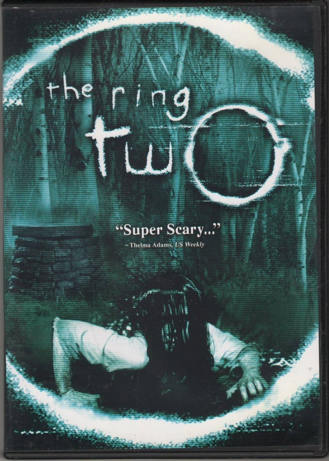 The Ring Two Super Scary Naomi Watts Simon Baker David Dorfman DVD Movie PG-13 Region 1