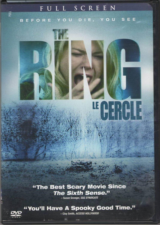 The Ring Le Cercle Naomi Watts Martin Henderson Brian Cox Full Screen DVD Region 1 PG-13 Movie